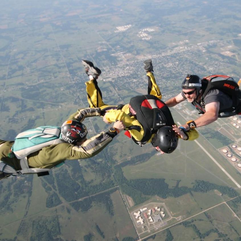 fot. Oklahoma Skydiving Center