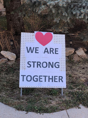 We are strong together!