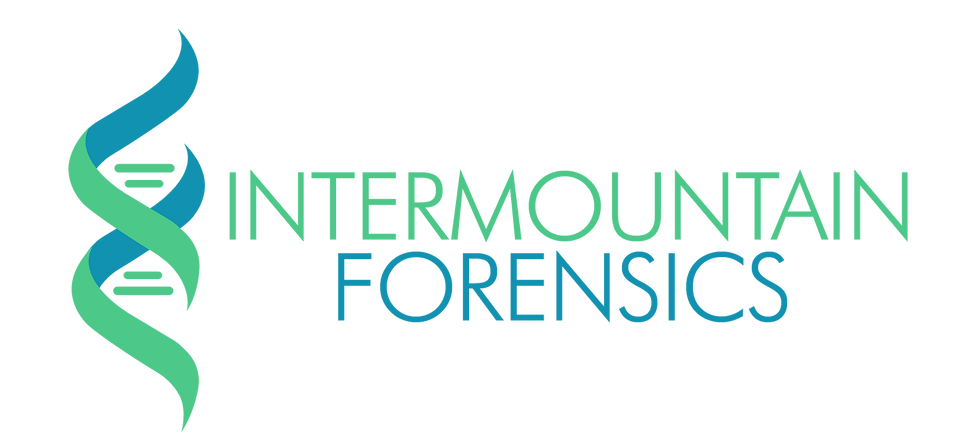 Intermountain forensics logo