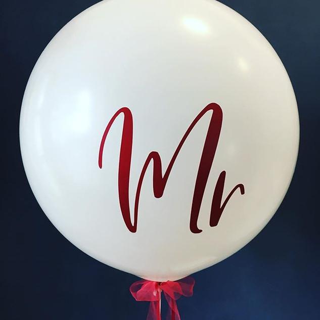Zur Zeit sind diese Ballons sehr beliebt