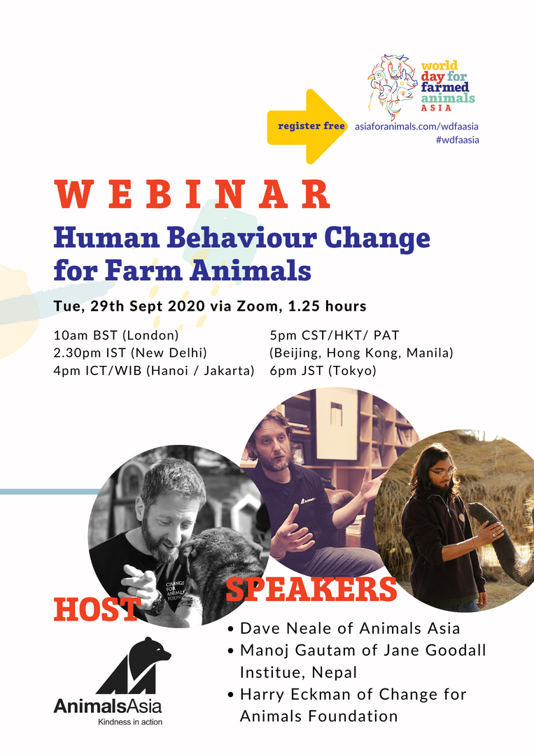 Human Behaviour Change for Farmed Animals
