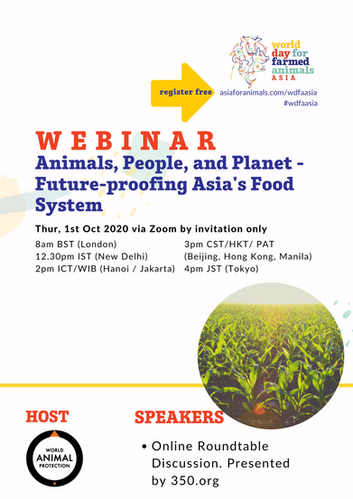 Animals, People, and Planet, future proofing Asia's Food System