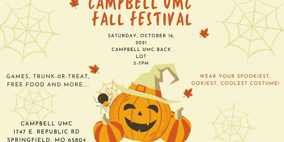 Fall Festival at Campbell UMC