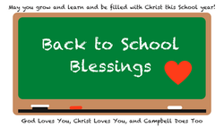 Backpack Blessing tags