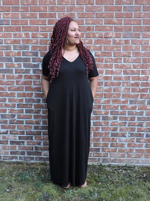 """""""Sarah"""" Maxi Dress"""