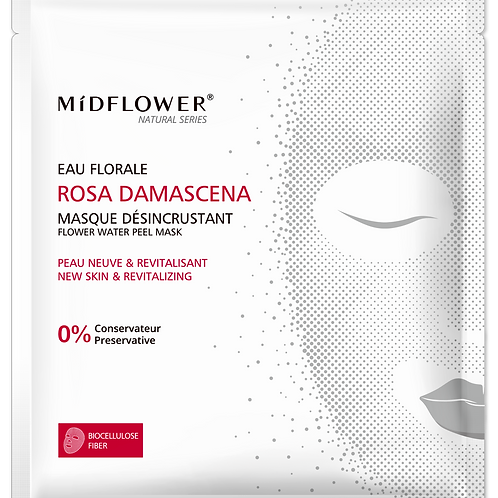 MASQUE BIOCELLULOSE ROSA DAMASCENA