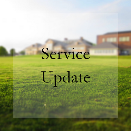RGL Service Update