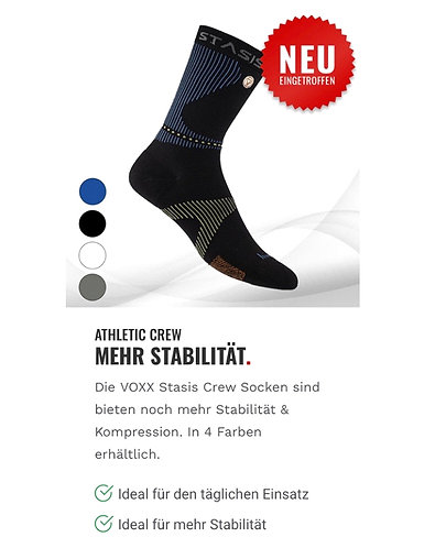 ATHLETIC CREW Socken