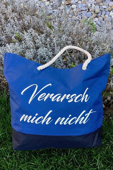 """Tasche """"Verarsch mich nicht"""" / Blau"""