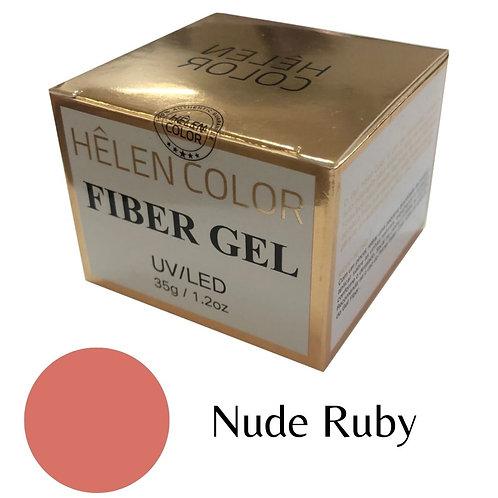 Gel para Alongamento de Unhas Helen Color – Nude Ruby 35g