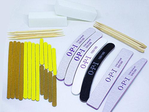 Kit Manicure Especial Lixas e Palitos