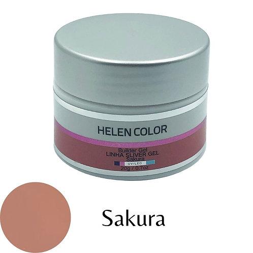 Gel para Unhas de Gel Helen Color Silver – Sakura 20g
