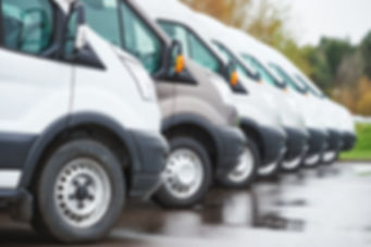 Commercial locksmith vans in Orange County