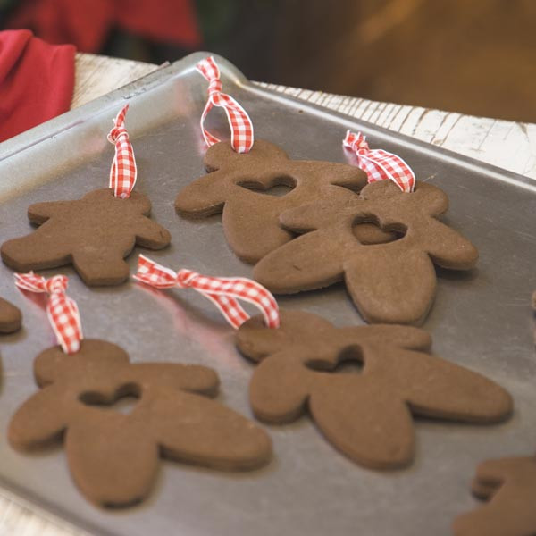 Applesauce Cinnamon Cutout Ornaments-FOR DECORATION ONLY