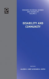 Thumbnail image of Research in Social Science and Disability journal cover.