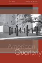 Thumbnail image of American Quarterly journal