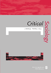 Thumbnail image of Critical Sociology journal cover.