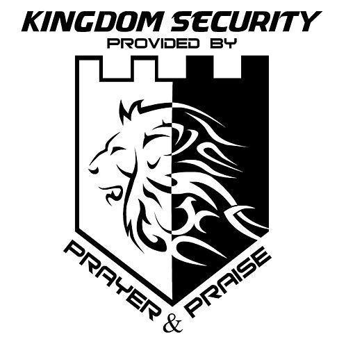 """Window Cling ( 6"""" x 6"""" ) - Kingdom Security"""