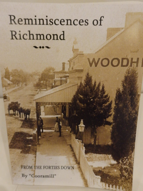 Reminiscences of Richmond by Cathy McHardy