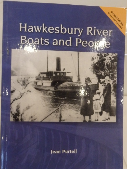 Hawkesbury River Boats and People by Jean Purtell