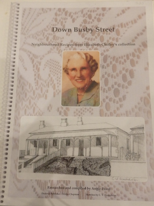 Down Busby Street by Bathurst Historical Society