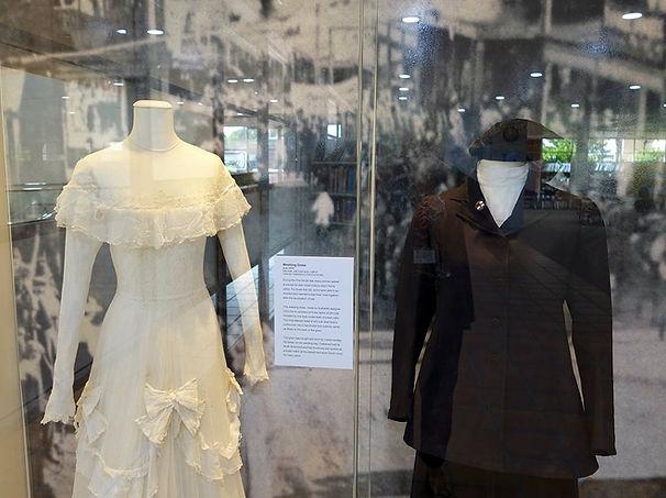 Dress Artifacts in the Hawkesbury Regional Museum