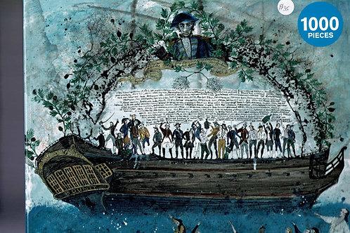 Mutiny on the Bounty 1000 pieces jigsaw