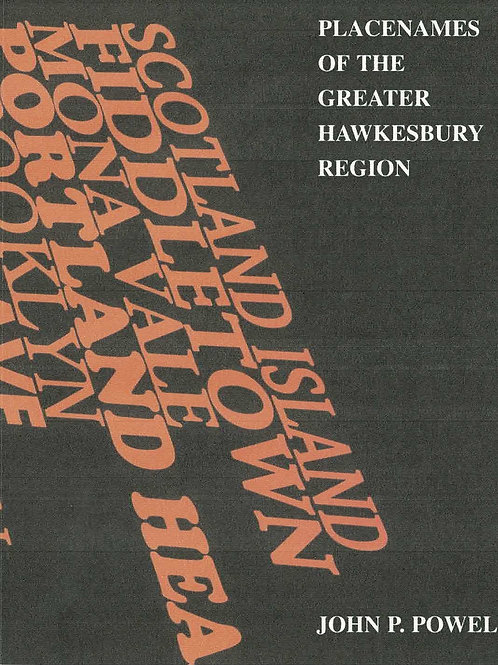 Placenames of the Greater Hawkesbury Region by John P. Powell