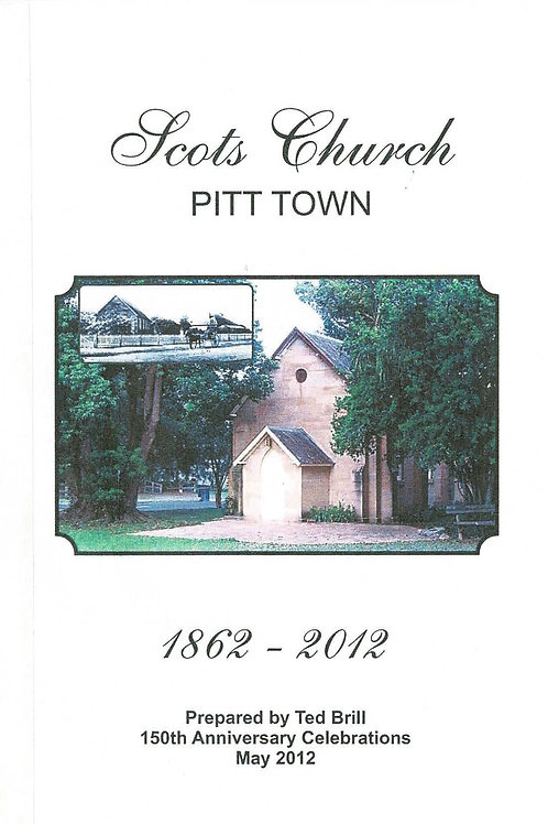 Scots Church Pitt Town by Ted Brill