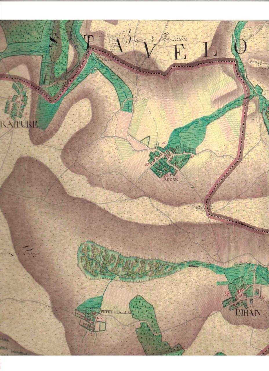Carte Ferraris 1776