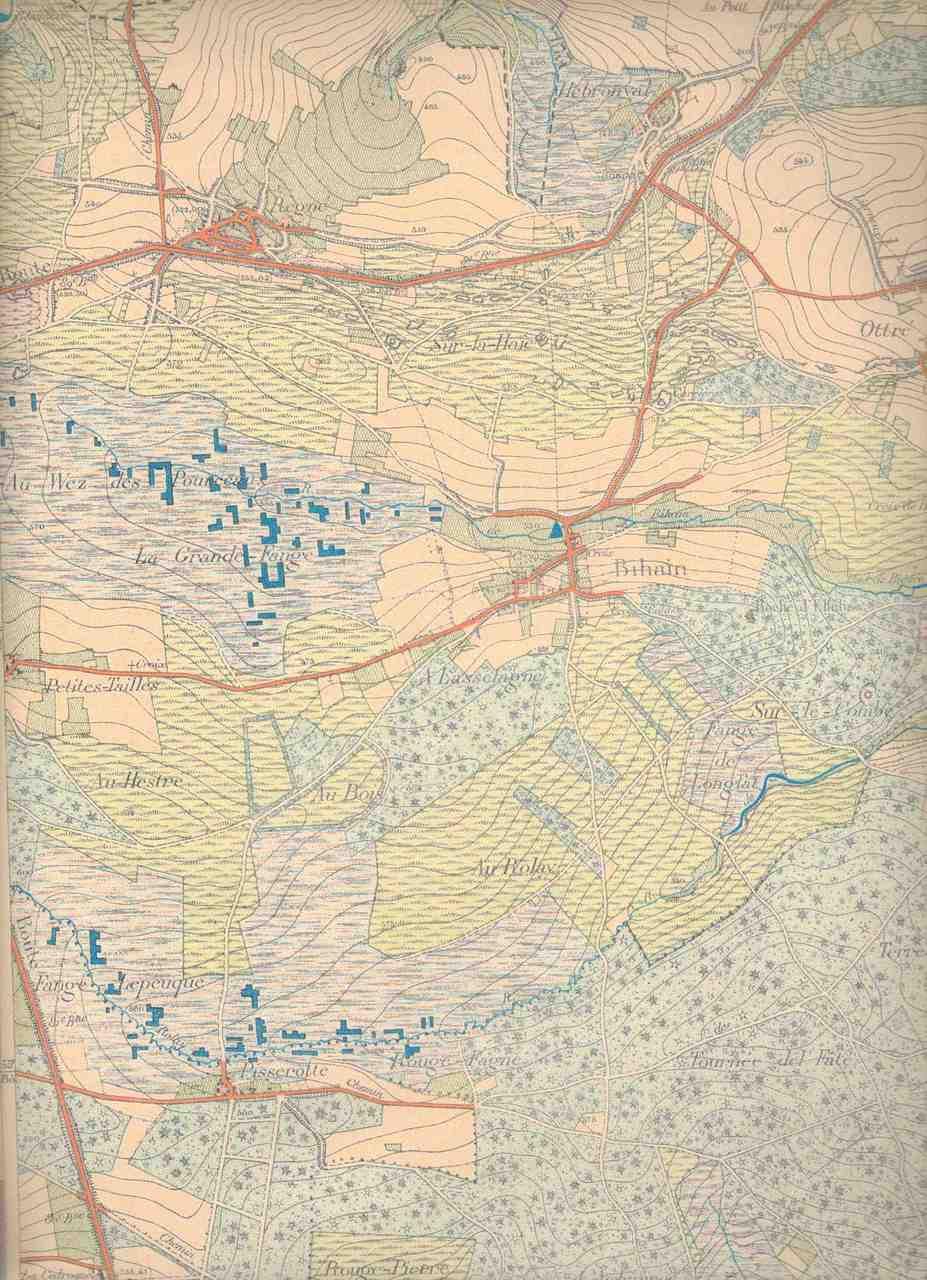 Carte IGN de 1895