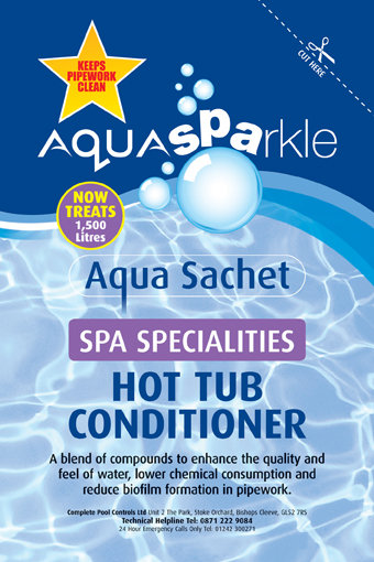 Hot Tub Conditioner Sachet X 5