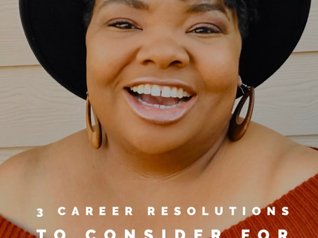 3 Career Resolutions to Consider for 2020