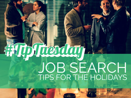 Job Search Tips for the Holidays
