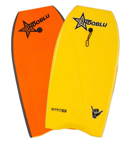 "Sharka EPS Core Body Board 41"" - Yellow / Orange"