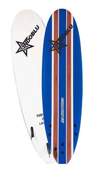Soft Top Surfboard - Storm Surf 6'2 - Dark Blue
