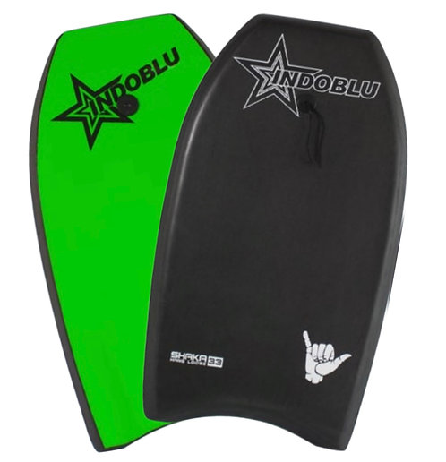 "Sharka EPS Core Body Board 33"" - Matt Black / Green"