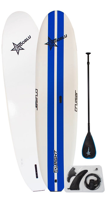 """Stand up Paddle board-SUP - 10'8"""" - Blue Strips"""
