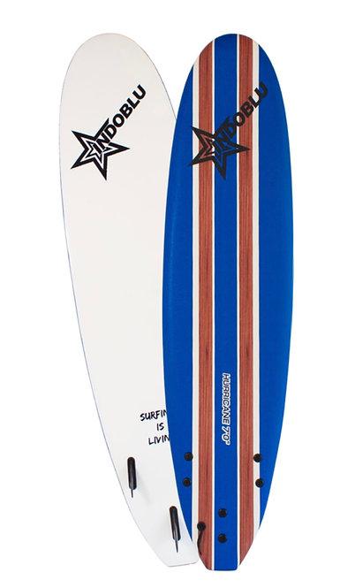 Soft Top Surfboard - Hurricane 7'0 - Dark Blue