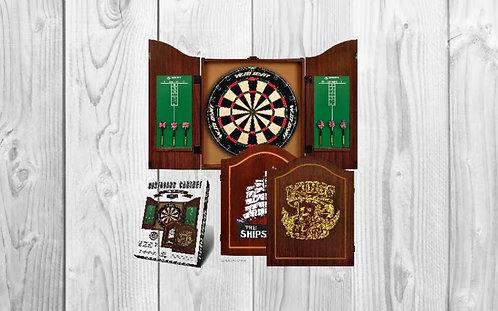 Cabin Dartboard Set - The Ships