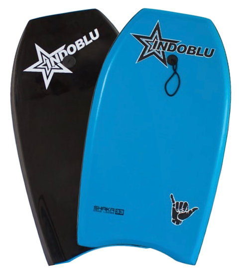 "Sharka EPS Core Body Board 33"" - Light Blue / Glass Black"