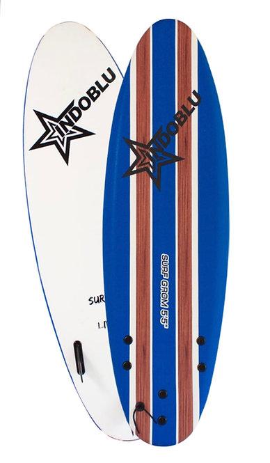 Soft Top Surfboard - Surf Grom 5'5 - Dark Blue