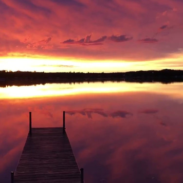 Lake Metigoshe Spectacular Sunrise