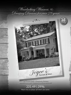 Joyce's Formals