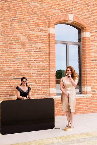 Musique mariage, group de musique mariage Toulouse, groupe de jazz vin d'honneur, chanteuse mariage toulouse, pianiste mariage Toulouse