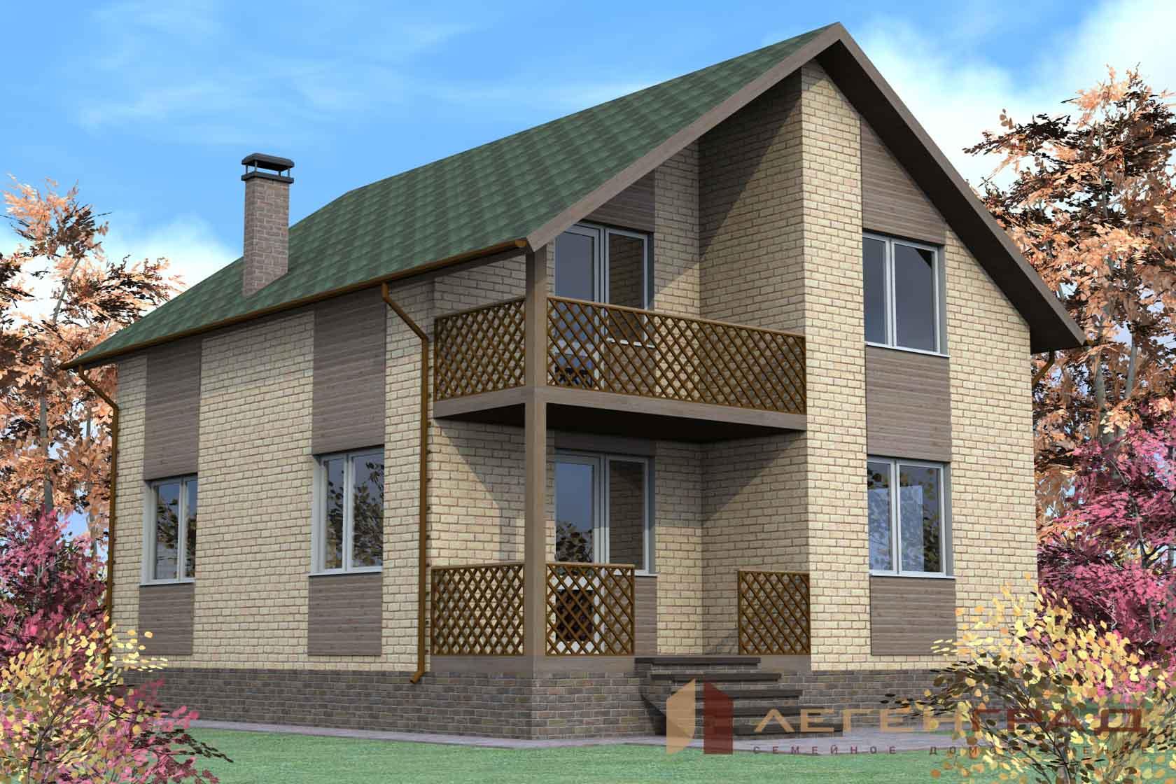 Дом из кирпича (5)
