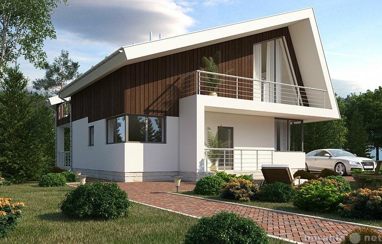 Дом из арболита (5)