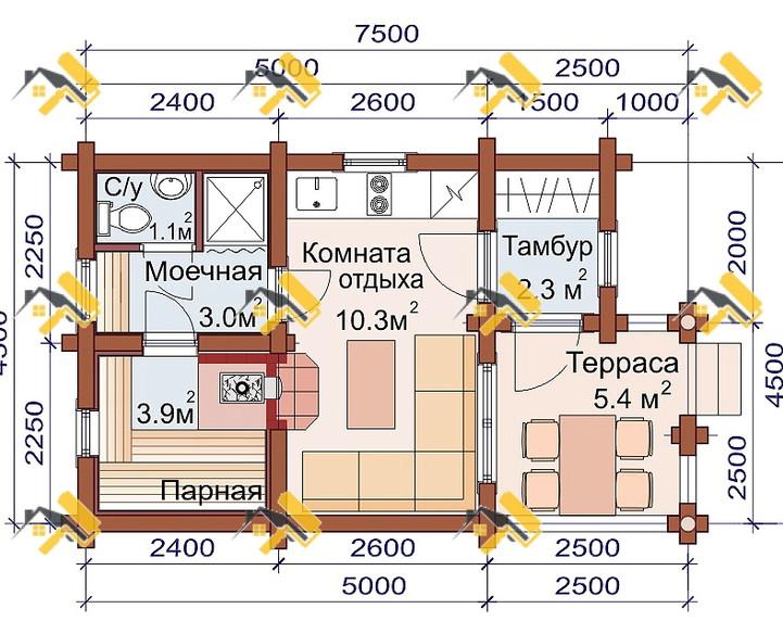 П-1 (Оц 4,5х7,5)