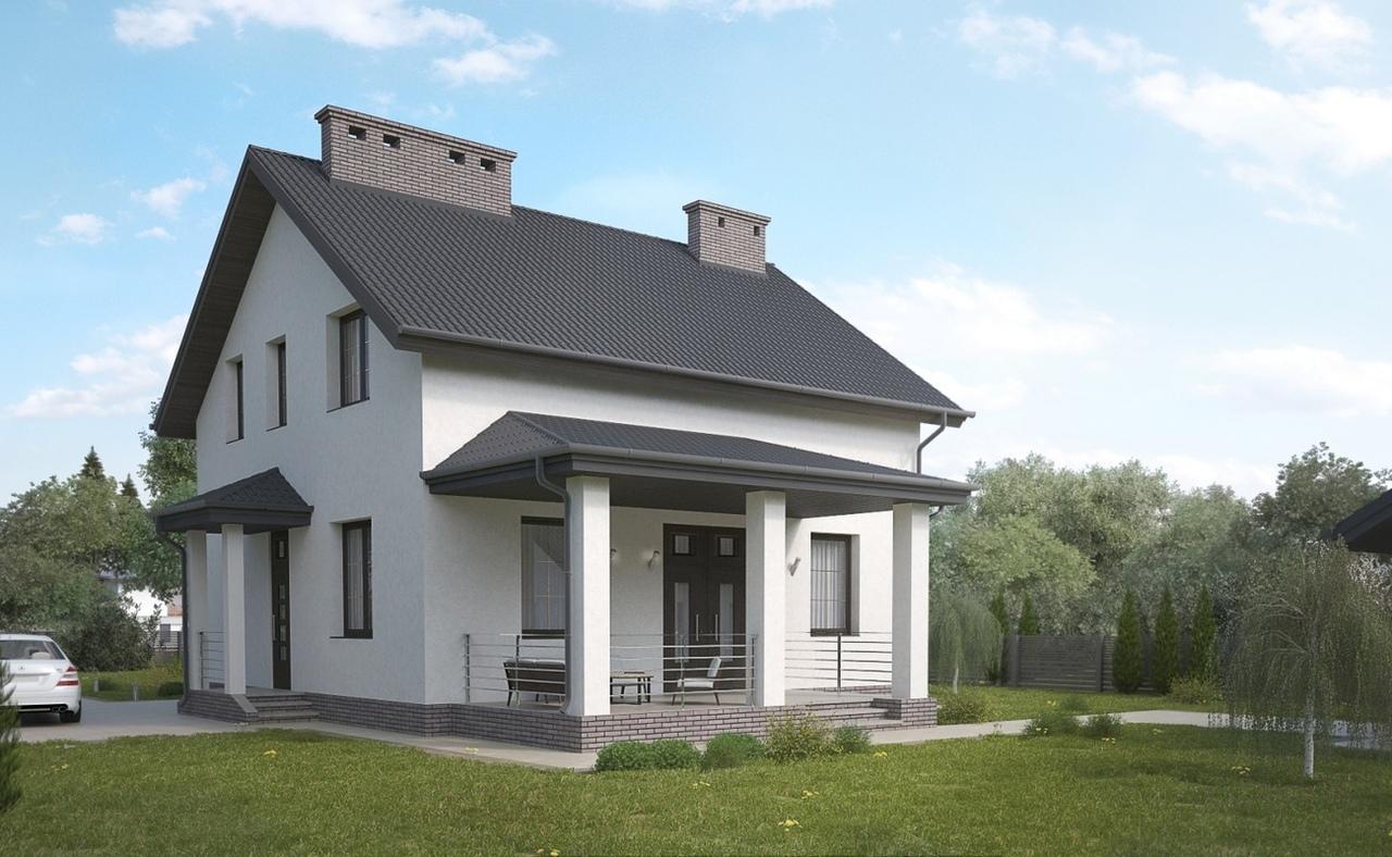 Дом из арболита (1)