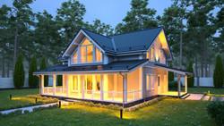 Каркасный дом (4)